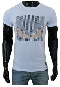 Fendi Men's T Shirt white