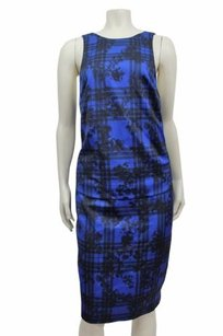 Finders Keepers short dress Blue Tartan on Tradesy