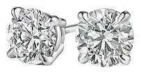 Fine Jewelry Vault 0.50 Carat Natural Diamond Studs in 14K White Gold