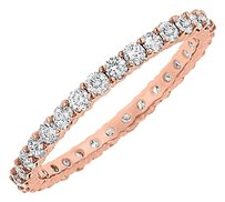 Fine Jewelry Vault Cubic Zirconia Eternity Bangle in 14K Rose Gold 10.00.ct.tw