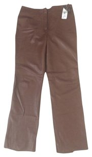 Finity Straight Pants Dark Brown