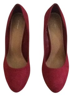 Fioni Red/dark red Pumps