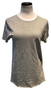 First Base T Shirt Grey