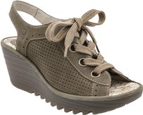 FLY London Current Yuta khaki Sandals