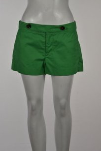 Flying Tomato Womens Casual Solid Shorts Green
