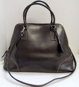 Focus Paris France Satchel in Brown