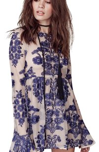 For Love & Lemons short dress navy on Tradesy