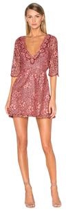 For Love & Lemons short dress Lace Short Cut-out on Tradesy