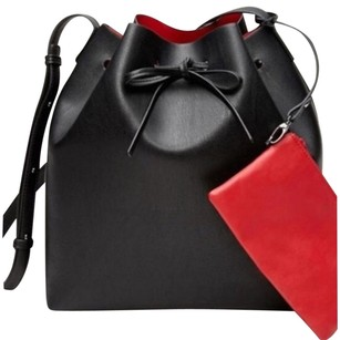Forever 21 Satchel in Black and Red