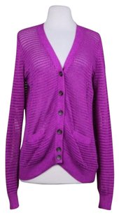 Fossil Womens Cardigan Cotton Sweater