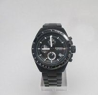Fossil Fossil Chronograph Black Ion-plated Mens Watch Ch2601 Heavy Wear