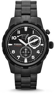 Fossil Fossil Dean Black Ip Automatic Mens Watch Me3040