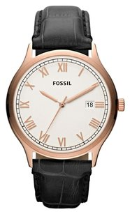 Fossil Fossil FS4743 Male Dress Watch White Analog