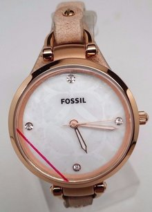 Fossil Fossil Georgia Rose Gold-tone Stainless Steel Ladies Watch Es3151
