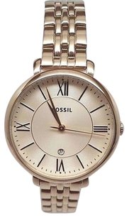 Fossil Fossil Jacqueline Gold-tone Ladies Watch Es3434 Needs Battery Or Repair
