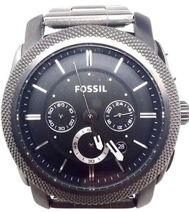 Fossil Fossil Machine Chronograph Black Dial Mens Watch Fs4662 Broken Doesnt Work
