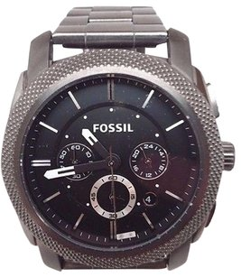 Fossil Fossil Machine Chronograph Black Dial Mens Watch Fs4662 Number Fell Off