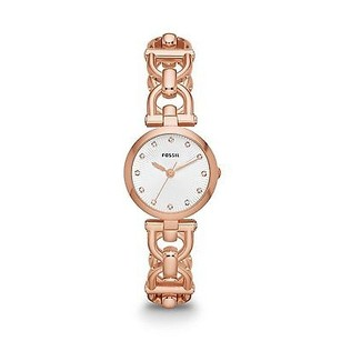 Fossil Fossil Olive Rose Gold-tone Ladies Watch Es3350