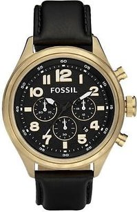 Fossil Fossil Vintaged Bronze Chronograph Mens Watch De5000