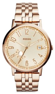 Fossil Fossil Women's ES3789 Vintage Muse Rose Gold-Tone Stainless Steel Watch