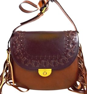 Fossil Leather Emi Cross Body Bag