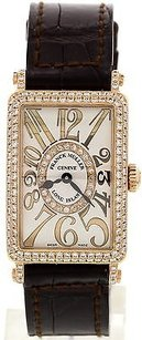 Franck Muller Ladies Franck Muller Long Island 18k Rg Diamond 902.qz.d.cd.1r