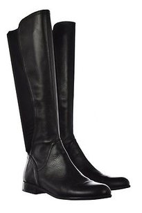 Franco Sarto Marielle Womens Knee High Leather Heel Black Boots