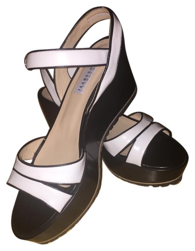 white and black sandals 78 7657171 sandals on sale