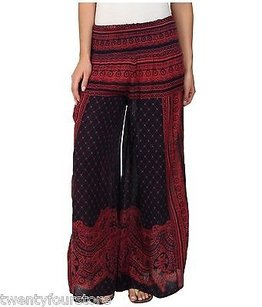 Free People Printed Sahara Wide Pants