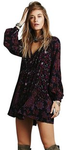 Free People short dress Bohemian Soft Boho Dress on Tradesy