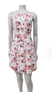 Free People short dress pink black Mon Cheri Convertible on Tradesy