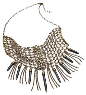 Free People Free People Chainmail Collar Necklace Brass