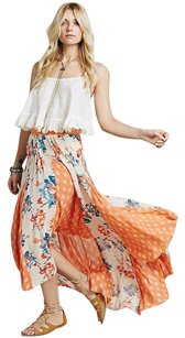 Free People Hippie Boho Maxi Skirt Multi