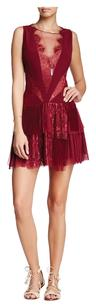 Free People Holiday Nwt Red Dress