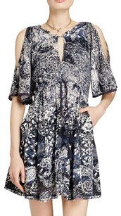 Free People short dress Print Open Shoulder Tie Floral on Tradesy