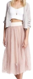 Free People Maxi Skirt Blush Pink