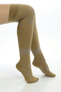 Free People Nwt One People Carmel Brown Soft Over The Knee Socks 26313288