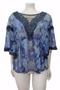 Free People Daydreamer Embroidered Top Multi-Color