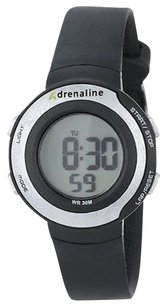 Freestyle Freestyle Unisex Ad50670 Adrenaline Round Digital Fitness Ribbed Strap Watch