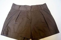 French Connection 100 Cotton Dress Shorts Grays