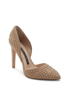 French Connection Tan Pumps