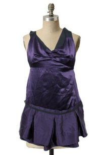 French Connection short dress Purple Deep on Tradesy