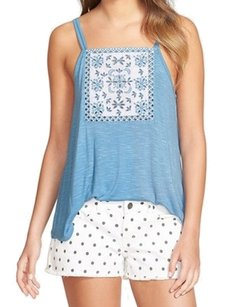 Frenchi Bp311807jr Cami New With Tags Top Blue