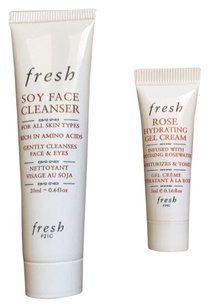Fresh FRESH Soy Face Cleanser + Rose Hydrating Gel Cream