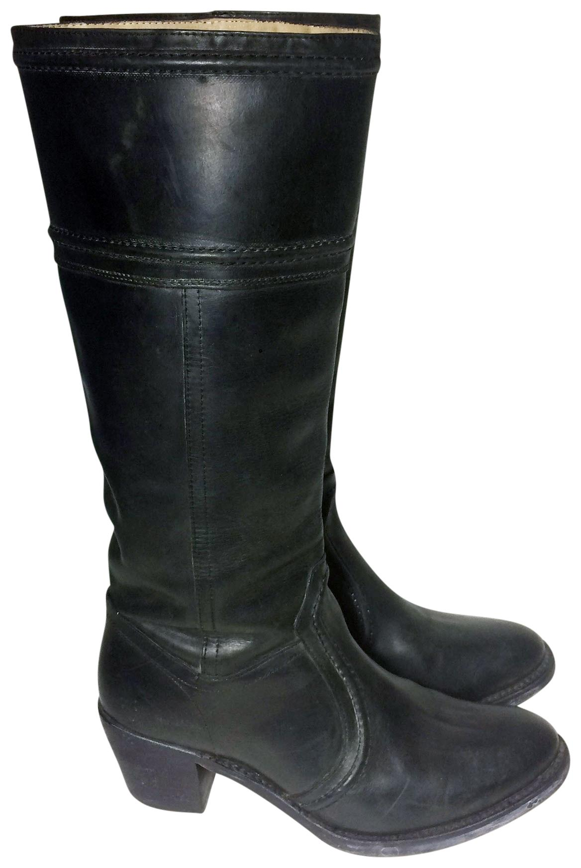 Frye Black 77219 Jane 14l 14l Jane Leather Boots/Booties Size US 10 Regular (M, B) 71f554