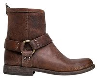 Frye Closed-toe Finalpairs Phillipcognac-7 Brown Boots