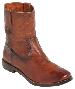 Frye Anna Shortie Brown Boots