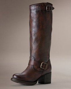 Frye Vera Slouch Brown Boots