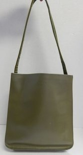 Furla Italy Olive Tote in Green