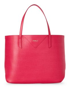 Furla Tote in Pink Gloss